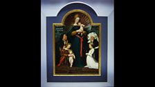 The Darmstadt Madonna by Hans Holbein