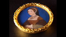 Miniature of Catherine Howard by Hans Holbein