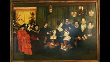 Copy of the More Family Portrait by Rowland Lockey, after Holbein