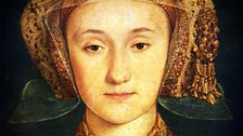 Anne of Cleves by Hans Holbein, detail