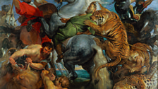 Peter Paul Rubens - Tiger, Lion and Leopard Hunt, 1616
