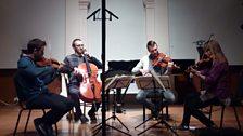 Heath Quartet performing at the Machynlleth Festival