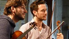 Members of the Cavaleri Quartet at the Presteigne Festival