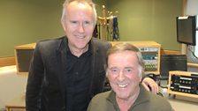 Howard Jones with Sir Terry