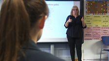 Teaching BSL in class