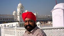 Tony Singh in the holy city of Amritsar