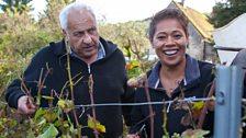 Monica Galetti on the wine trail