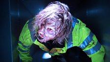 Zombie in uniform