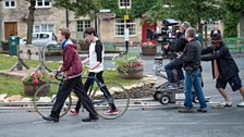 Filming on the move