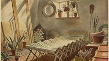 The Attic Bedroom,  watercolour c1931