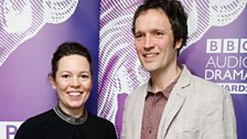 Olivia Colman presented the award for Best Original Drama to producer Alan Hall.