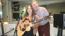 Gretchen Peters with Sir Terry