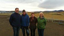 Tom visits an Icelandic farm