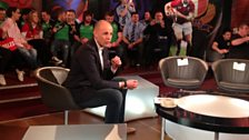 Jason Mohammed presenting Scrum V Sunday