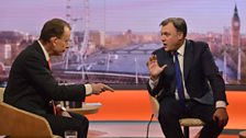 Ed Balls MP, Shadow Chancellor of the Exchequer