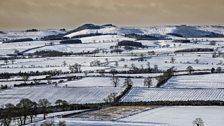 Rothbury moors in January