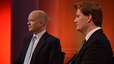 William Hague MP and Danny Alexander MP