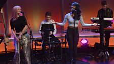 Clean Bandit perform on The Andrew Marr Show