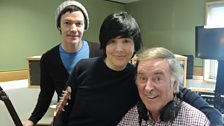 Tony and Sharleen of Texas with Sir Terry