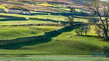 A sunny Swaledale in winter David
