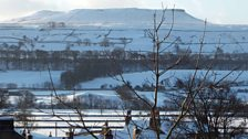 Snow covered Askrigg