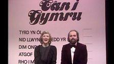 Cân i Gymru - 1982 - Menna Gwyn ac Emyr Wyn