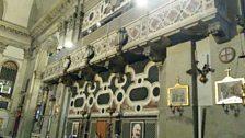 Chiesa dei Mendicanti musicians balcony
