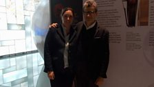 Kate Kennedy and Fausto Cacciatori at Cremona Museo