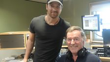 Kip Moore with Sir Terry