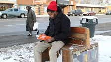 Sit on It Detroit used the money it won at Detroit Soup to build bus stop benches