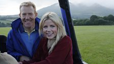 Adam Henson and Ellie Harrison hunt for secrets from the air on a balloon trip.