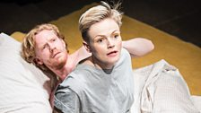 Michael Shaeffer (Jarron) and Maxine Peake (Dana)
