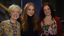 Janice and Nicola with Judith Owen
