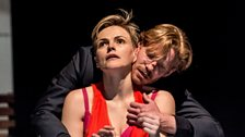 Maxine Peake (Dana) and Michael Shaeffer (Jarron)