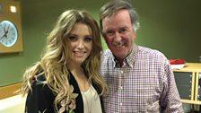Ella Henderson with Sir Terry