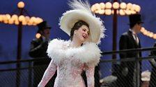 "Diana Damrau in the title role in Massenet's ""Manon."""