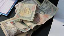 The suggested donation for people attending Idea Fest was 100 Nepalese Rupees (approx $1)
