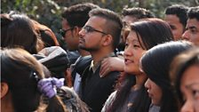 Nearly 300 people turned out to show support at the first Idea Fest Nepal