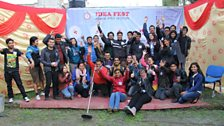 Over twenty young people got involved in organising Idea Fest