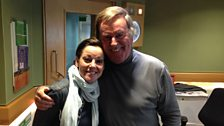 Ruthie Henshall and Sir Terry