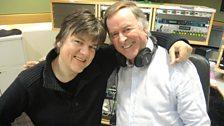 Dr Robert with Sir Terry