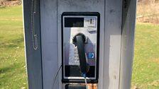 Green Bank pay phone