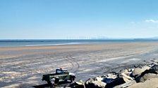 Seaton Carew Beach, Hartlepool