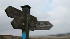 Signpost at Top Withens