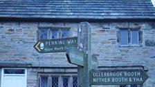 Edale Signpost