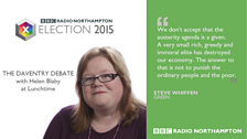 Daventry constituency candidate for the Greens - Steve Whiffen