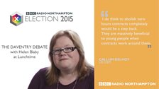 Daventry constituency candidate for the Lib Dems - Callum Delhoy