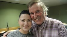 Lucy Spraggan and Sir Terry Wogan