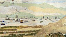 The Evacuation of Dunkirk (detail), John Craske 1881-1943