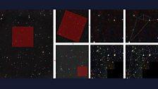 Hubble Deep Field by Doug Hawkes